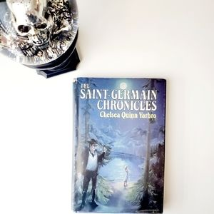Antique 80's Book St Germain Chronicles Hardcover